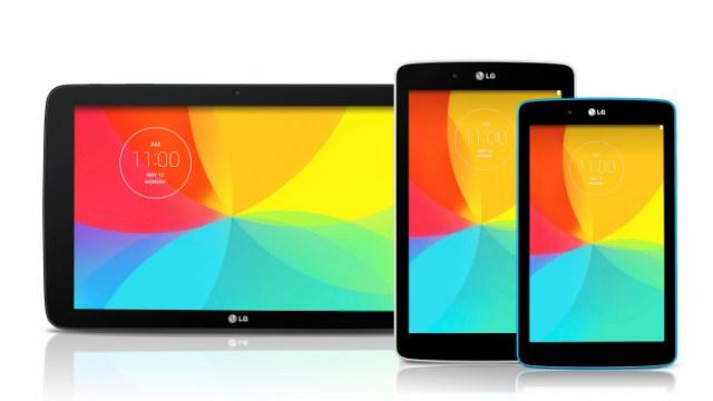 ถึงเวลาปล่อยภาคต่อ LG มีแทบเล็ตอีกสามรุ่นเตรียมเข้าสู่ตลาด