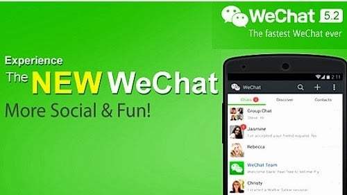 ค้นหาเพื่อนใหม่ๆ ด้วย WeChat ง่ายนิดเดียว!!