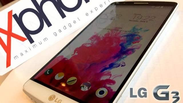 [Preview] ลองจับ LG G3 หน้าจอ QHD กล้อง 13 MP พร้อม Laser focus มีภาพตัวอย่างจากกล้อง!!