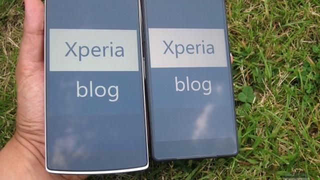 ไหล่ต่อไหล่ เปรียบเทียบความหล่อของ OnePlus One กับ XPERIA Z2!!