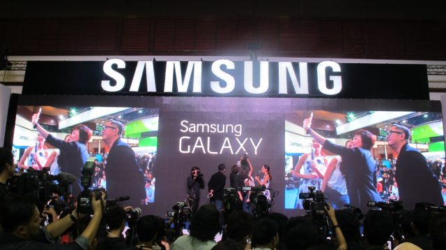 Samsung Galaxy Note 4 เปิดตัวอย่างยิ่งใหญ่ครั้งแรกในงาน Mobile Expo 2014