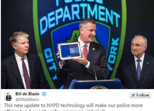 ตำรวจนิวยอร์คเสริมเขี้ยวเล็บด้วย Windows แท๊บเลตและโทรศัพท์