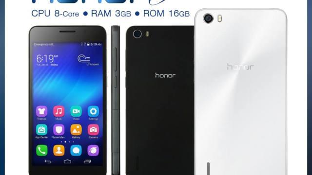 หัวเว่ยซุ่มส่ง Huawei Honor 6 สมาร์ทโฟนรุ่นใหม่สเปคแรงเข้าประกวด เปิดราคา 13,990 บาท