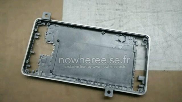 หลุด!!! ชิ้นส่วนตัวเครื่องโลหะของ Samsung Galaxy S6 คาดไม่น่าจะทัน CES