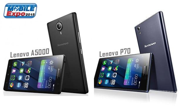 Lenovo เตรียมส่ง A5000 และ P70 ลุยงาน TME 2015 คาดราคา 3,990 และ 6,990 บาท ตามลำดับ