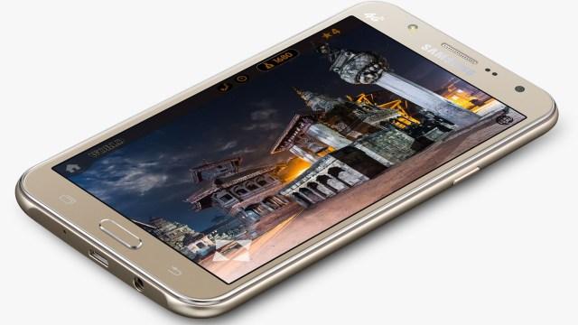 Samsung เปิดตัว Galaxy J7, J5 น้องเล็กพกกล้องหน้าเซลฟี่ติด LED Flash