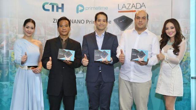 "Primetime จับมือ CTH เปิดตัวกล่อง ""ZIPtv nano Primetime"" สนองคอหนังและคอบอลแบบครบเครื่อง"