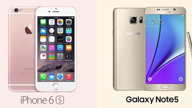 เทียบสเปคความสามารถ iPhone 6s Plus กับ Samsung Galaxy Note 5 ใครเด่นด้านไหน