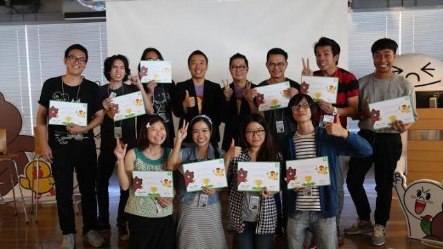 LINE เผย ครีเอเตอร์มาร์เก็ตในไทยโต 313% พร้อมพา 10 นักออกแบบสติกเกอร์ศึกษาดูงานที่ญี่ปุ่น