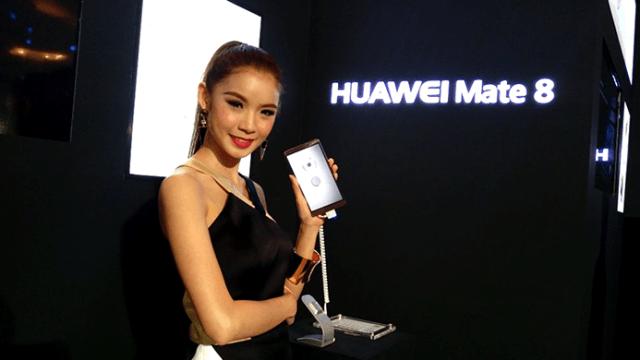 Huawei เปิดตัว Mate 8 อย่างเป็นทางการในไทย พร้อมขาย 23,990 บาท