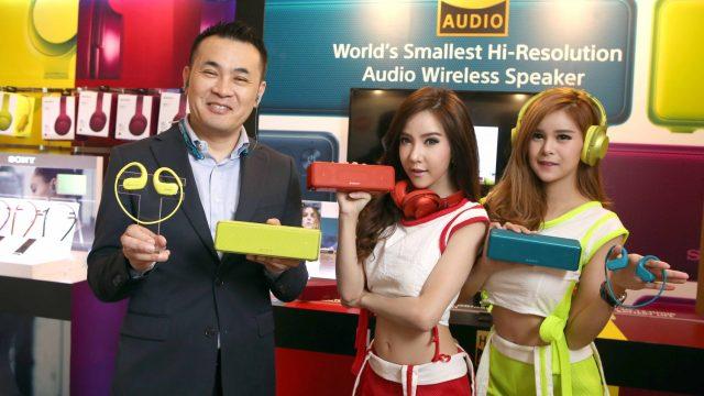 กระหึ่ม! โซนี่เปิดตัว Walkman รุ่น NW-WS413 พร้อมกองทัพสินค้า Hi-Res Audio