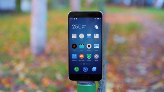 ภาพหลุดหน้าจอยัน MeiZu Pro 6 ไม่ตกเทรนด์ มีฟีเจอร์ 3D Touch