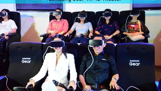 ซัมซุงให้ลองสัมผัสสุดยอดประสบการณ์เสมือนจริง Gear VR 4D Theater ภายในงาน TME 2016 Hi-End