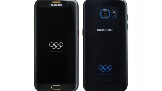 รุ่นพิเศษมาอีก Galaxy S7 edge เวอร์ชั่นสำหรับมหกรรมกีฬาโอลิมปิก 2016