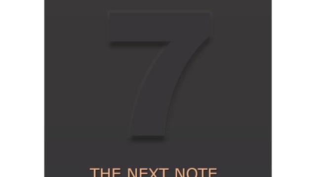 หลุดภาพยืนยันชื่อ Samsung Galaxy Note 7 แต่อดติด Android N มาจากโรงงาน