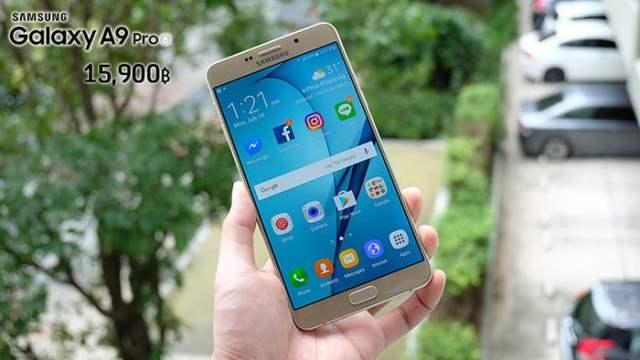 22 นี้เจอกัน! Samsung A9 Pro สมาร์ทโฟนจอยักษ์แบตอึดเตรียมขายในไทย แถมราคาดีงาม 15,900 บาท