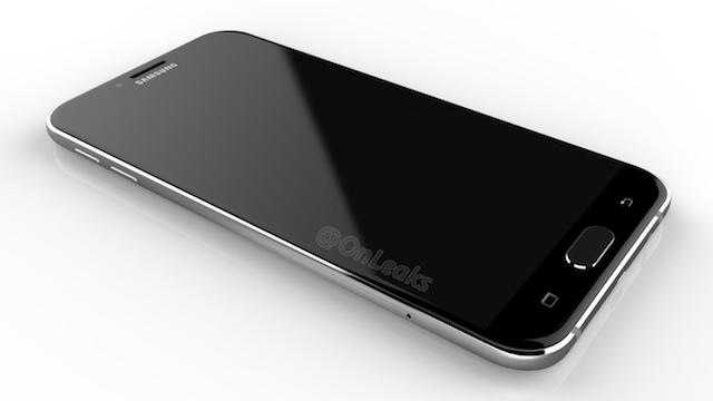 ภาพเรนเดอร์ Samsung Galaxy A8 (2016) หน้าตาหรู ดูดีกว่าเดิม