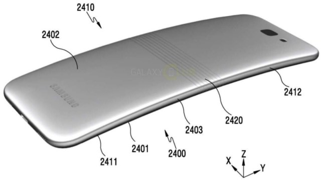 หลุด!! พิมพ์เขียว Samsung Galaxy X สมาร์ทโฟนจอพับได้รุ่นแรกของโลก