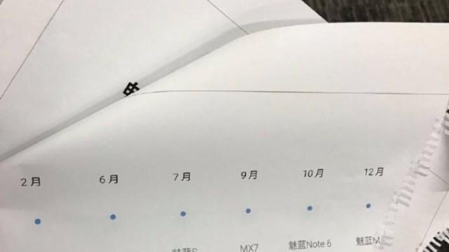 หลุดซะแจ่ม! ส่องแผนเปิดตัวสมาร์ทโฟนของ Meizu ในปี 2017 ประเดิมด้วย M5s