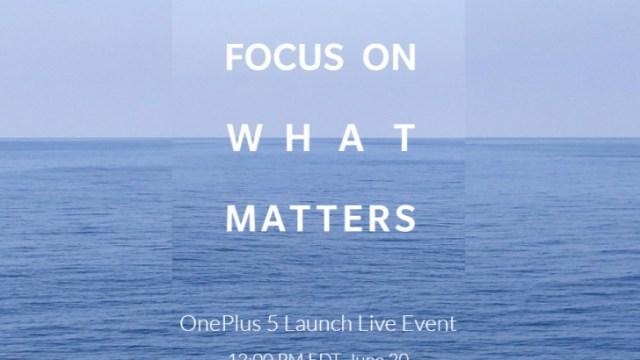 สับขาหลอกเละเทะ! OnePlus 5 ยันแล้วกำหนดเปิดตัวของจริง 20 มิ.ย.นี้