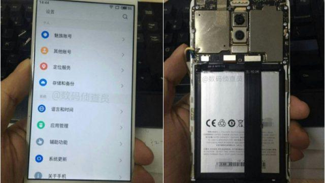 แงะฝาหลัง Meizu M6 Note เผยโฉมกล้องหลังคู่ ใช้แฟลช Quad-LED