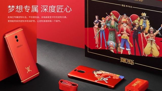 มุ่งสู่แกรนด์ไลน์! Meizu เป็นตัว M6 Note โมเดล One Piece Special Edition