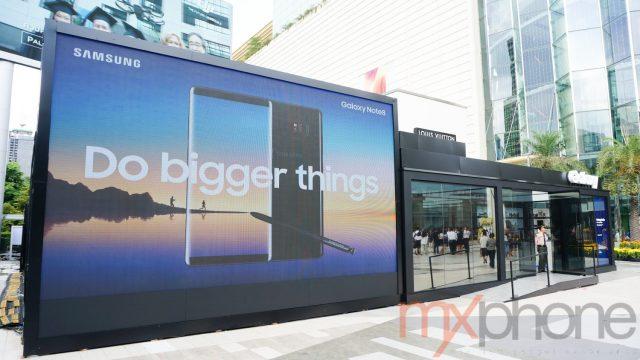 Samsung ชวนเปิดประสบการณ์บน Galaxy Note 8  ที่งาน Galaxy Studio ณ ลาน Parc Paragon วันนี้ – 10 พ.ย.