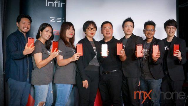 เปิดตัว Infinix ZERO5 สมาร์ทโฟนจอใหญ่ กล้องคู่ RAM 6GB เคาะราคาในไทย 9,990 บาท