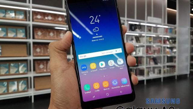 [Review] Samsung Galaxy A8+ (2018) ฝาแฝดผู้พี่ของ A8 (2018) ที่จอใหญ่กว่า หน่วยความจำมากกว่า และแบตฯ อึดกว่า