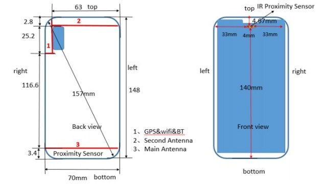 FCC ขึ้นรับรอง Huawei P20 Lite (ANE-LX1) จอรอยบากอัตราส่วน 19:9
