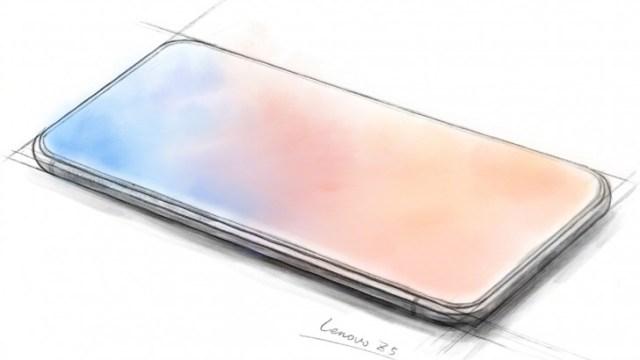 เผยภาพสเก็ตช์ Lenovo Z5 ดีไซน์จอไร้ขอบ 100% พร้อมเปิดตัว 14 มิ.ย.
