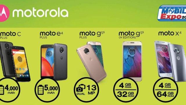 รุ่นไหนเหลือเท่าไหร่ กับโปรโมชั่นลดกระหน่ำสูงสุด 60% หลากหลายรุ่นฮิตจาก Motorola ในงาน TME2018
