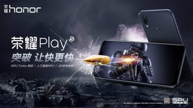เปิดตัวมือถือสายเกม Honor Play อัดความแรงด้วย GPU Turbo ชิป Kirin 970 สตาร์ทราคาหมื่นต้นๆ