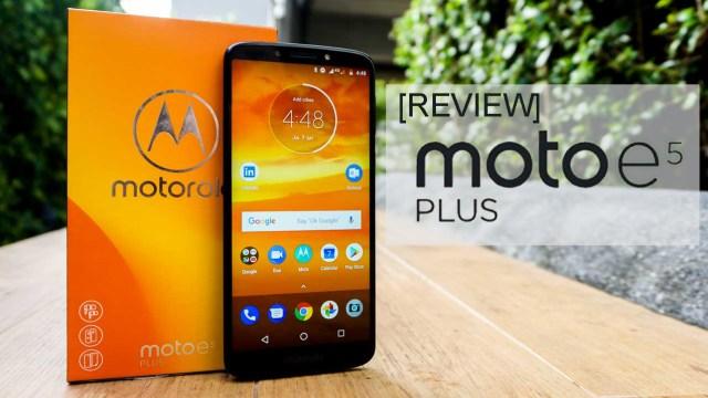 [Review] Moto e5 Plus มือถือแบตฯอึด จอใหญ่ สเปคกำลังดี กับราคาที่เข้าถึงง่าย