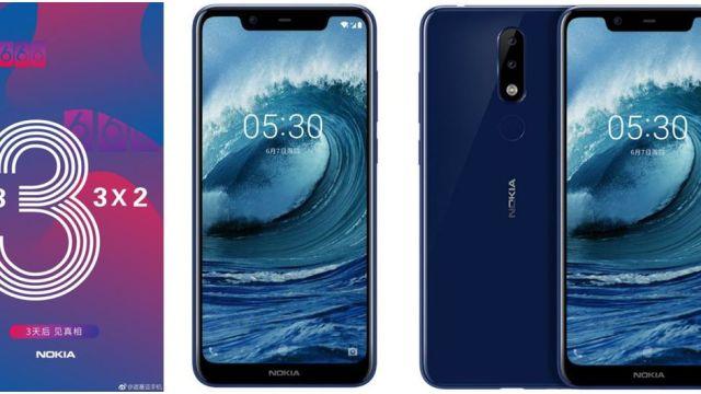 เผยเรนเดอร์ Nokia X5 จอบาก มีกล้องคู่ ยืนยันเปิดตัว 11 ก.ค. ที่จีน