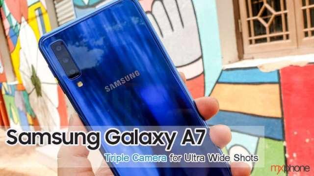 สำรวจกล้องหลัง 3 ตัวของ Samsung Galaxy A7 เมื่อมีเลนส์ Ultra-Wide ก็เห็นอะไรได้มากขึ้น