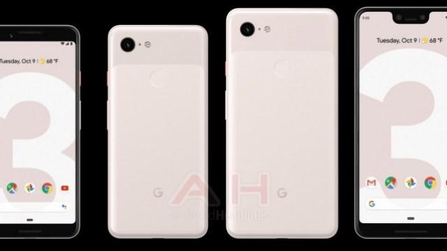 เผยภาพ Google Pixel 3 / Pixel 3 XL มีสเปคสีชมพูอ่อน