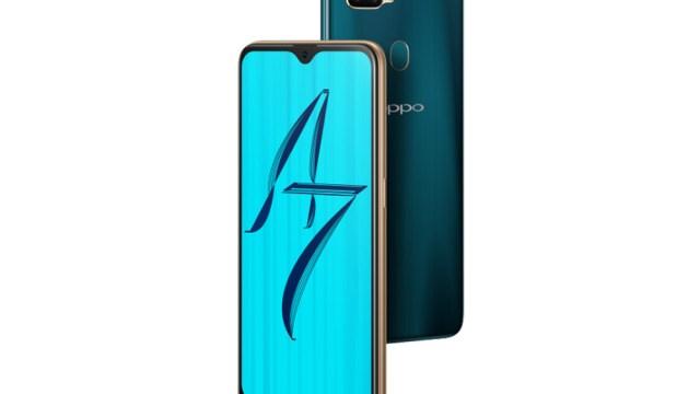 OPPO A7 สมาร์ทโฟนน้องใหม่ แบตเยอะ เจอใหญ่ ดีไซน์สวย