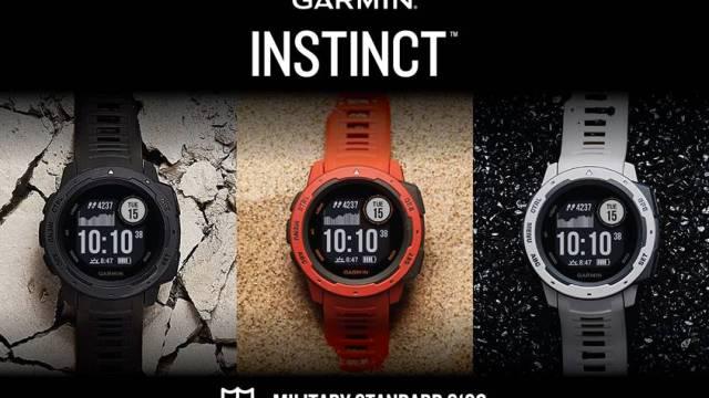 GARMIN Instinct จีพีเอสมัลติสปอร์ตวอทช์สายพันธุ์อึด ดีไซน์แกร่งพร้อมลุย โดนใจสายแฟชั่น!