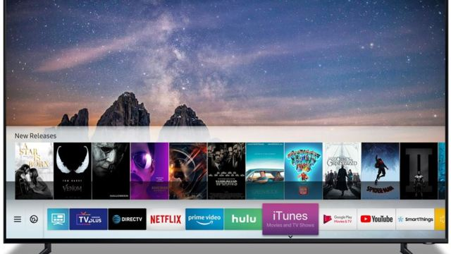 Samsung ผนึก Apple เตรียมปล่อย iTunes Movie & TV Shows บนสมาร์ททีวี