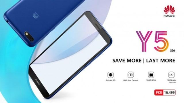 Huawei เปิดตัว Y5 Lite รัน Android Oreo (Go Edition) ตั้งแต่แกะกล่อง