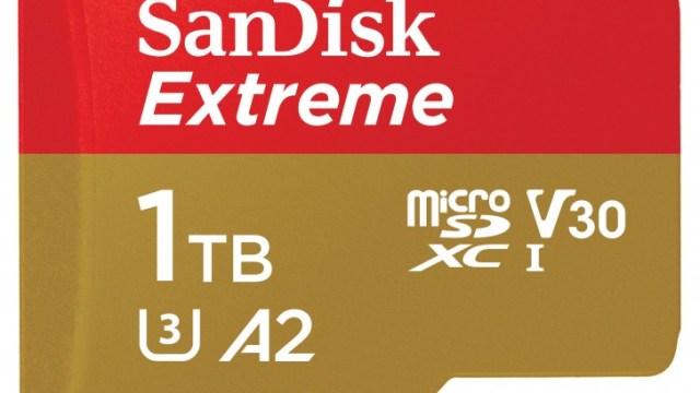 สู่ยุคเทรา SanDisk และ Micron เปิดตัว MicroSD ขนาดความจุใหม่ 1TB