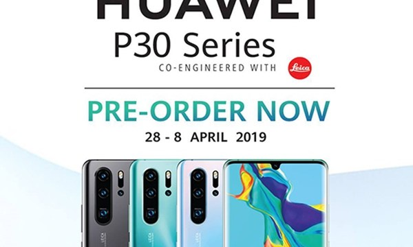 CSC เปิด Pre-Order สำหรับ HUAWEI P30 Series ค่าจองเริ่มต้น 500 บาท