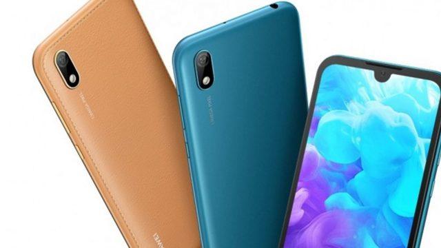 เปิดตัว Huawei Y5 2019 ชิป Helio A22 และมีจอรอยบาก 5.71 นิ้ว