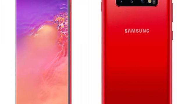 Samsung Galaxy S10/S10+ สีใหม่ แดง (Cardinal Red) มีขายที่สวิสฯแล้ว