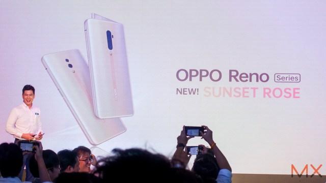 OPPO Reno Series สีใหม่ Sunset Rose พร้อมเปิดจองในไทย มีโปรฯ เก่าแลกใหม่ ลดสูงสุด 6,000 บาท