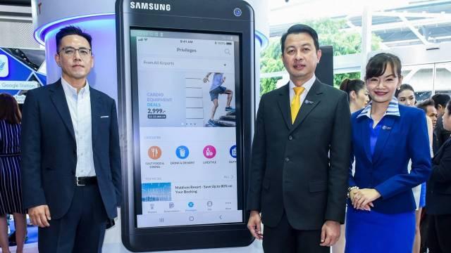 Samsung และบริษัทพันธมิตรคู่ค้า จับมือ ทอท. เปิดตัว AOT Digital Platform