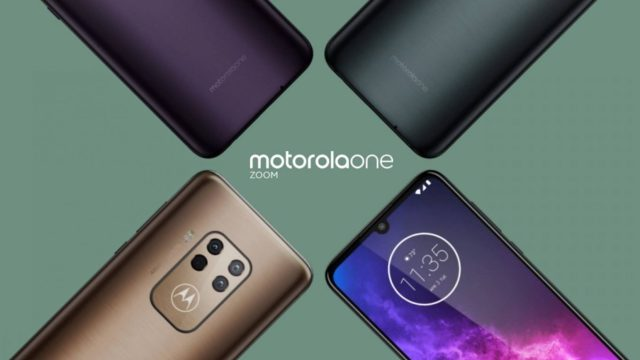 Motorola One Zoom มีขาย 3 สี ยืนยันใช้ Hybrid Zoom 5 เท่า