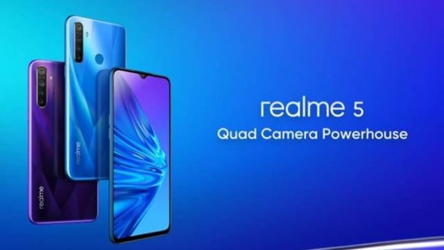 เปิดตัว Realme 5 / 5 Pro ใช้ชิปเซตใหม่ ให้กล้องหลัง 4 ตัว
