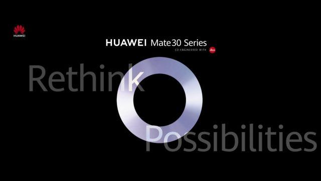 แล้วพบกัน! Huawei ประกาศจัดงานเปิดตัว Mate 30 series วันที่ 19 ก.ย.นี้